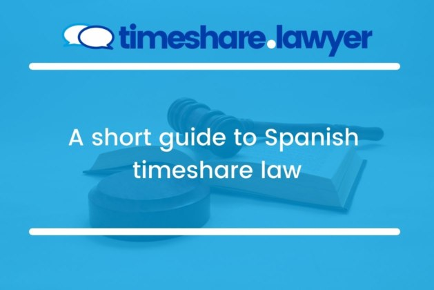 A short guide to Spanish timeshare law