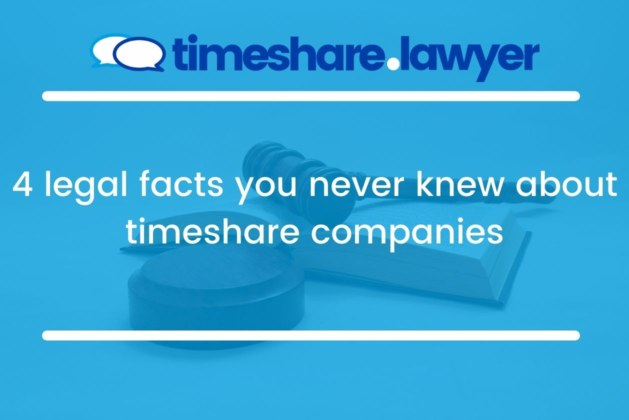 4 legal facts you never knew about timeshare companies