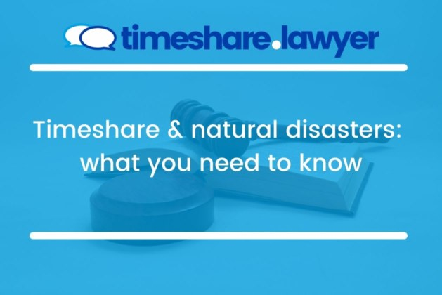 Timeshare & Natural Disasters: What You Need To Know