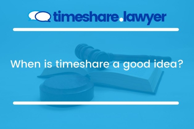 When Is Timeshare A Good Idea?