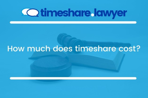 How Much Does Timeshare Cost?