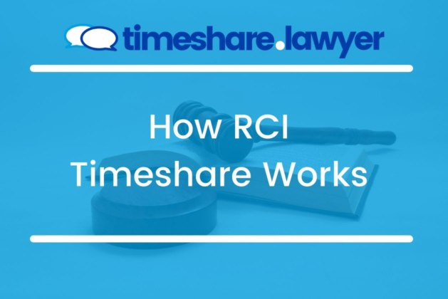 How RCI Timeshare Works