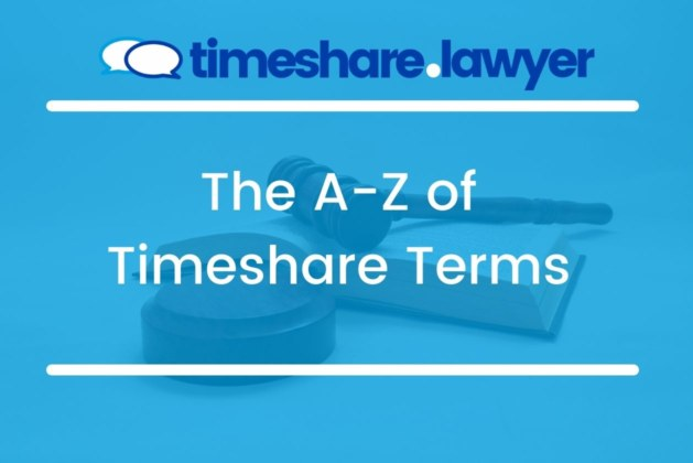 The A-Z Of Timeshare Terms You Need To Know