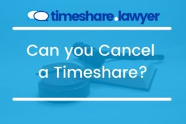 Can You Cancel A Timeshare?