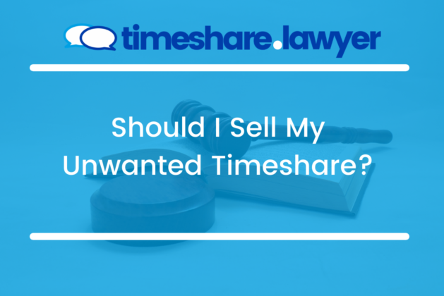 Should I sell My Unwanted Timeshare?